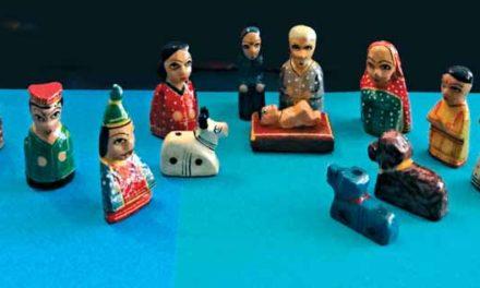 Miniaturowe szopki betlejemskie