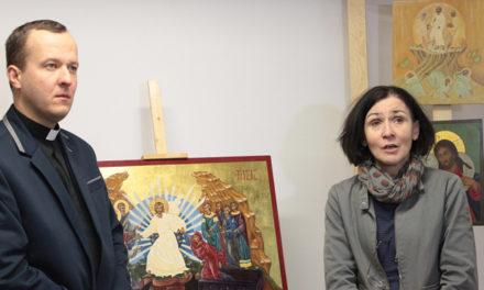 Łomża: droga do Boga w ikonach jezuickiej pracowni