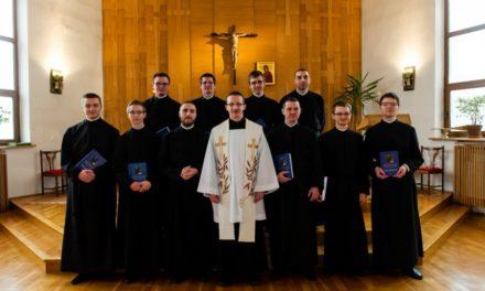 Gdynia: Polish novices receive cassocks