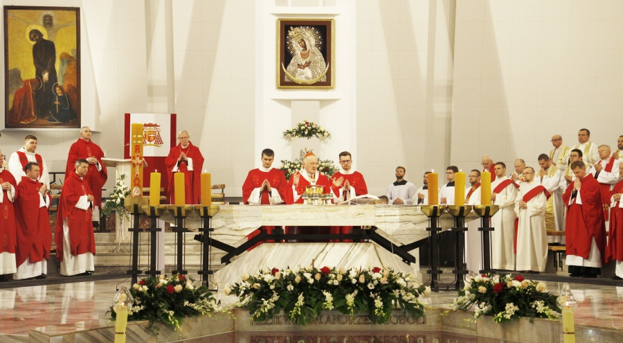 Święty Andrzej Bobola – patron trudnej jedność. Relacja z odpustu w Warszawie [AUDIO + GALERIA]