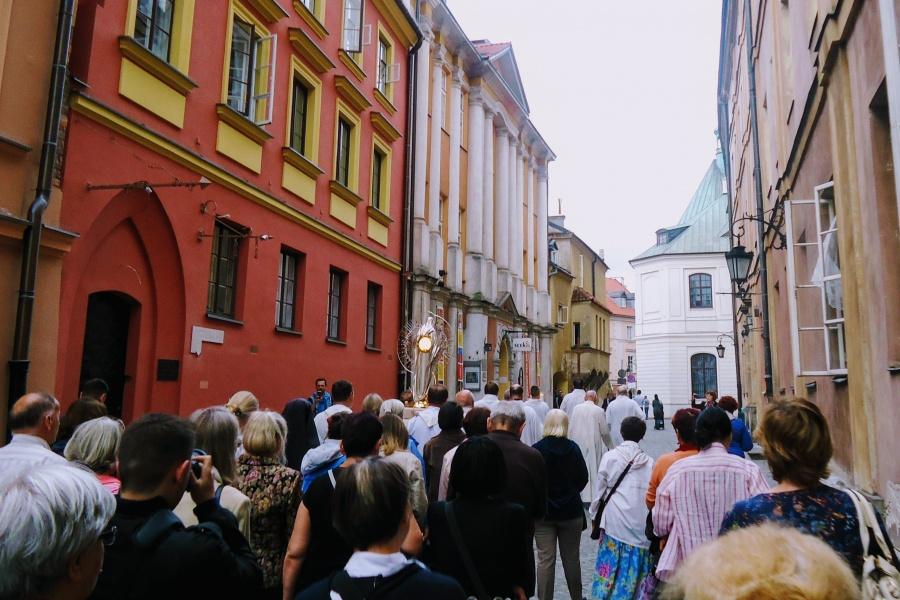 Warszawa: Święto Najświętszego Serca Pana Jezusa i Monstrancja Fatimska u Matki Boskiej Łaskawej