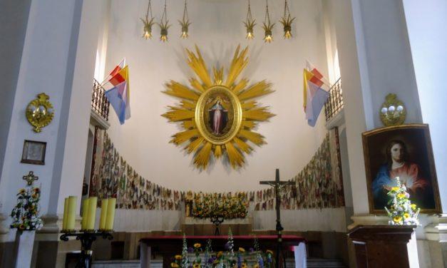 Warszawa: obraz Serca Pana Jezusa u Matki Boskiej Łaskawej
