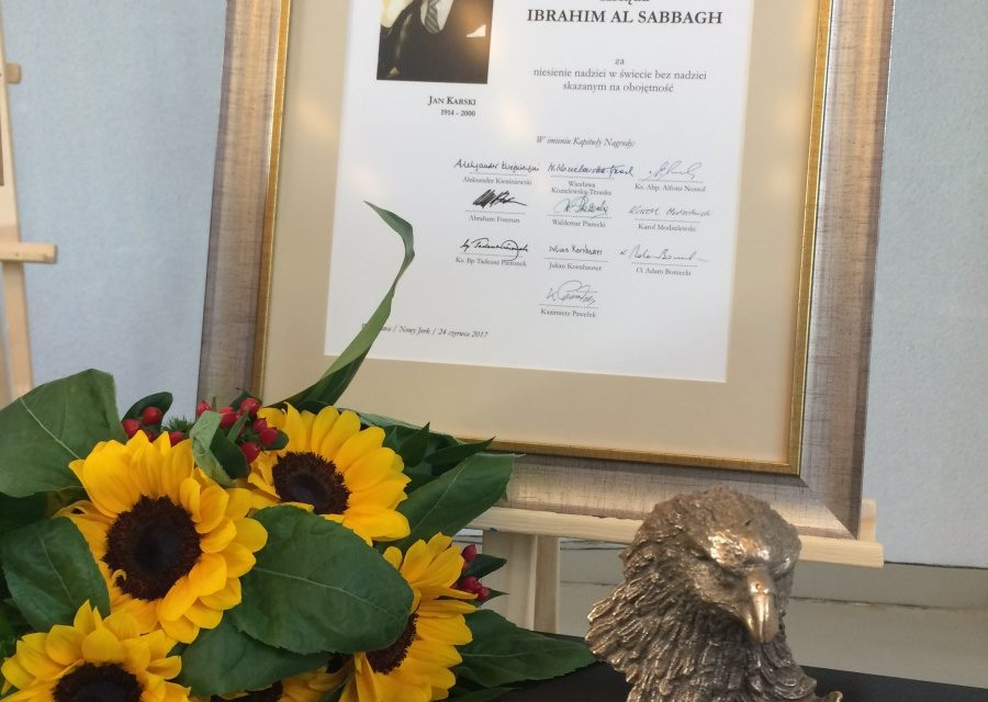 Kraków: Nagroda Orła Jana Karskiego na Akademii Ignatianum