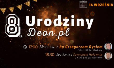 8. urodziny portalu DEON.pl