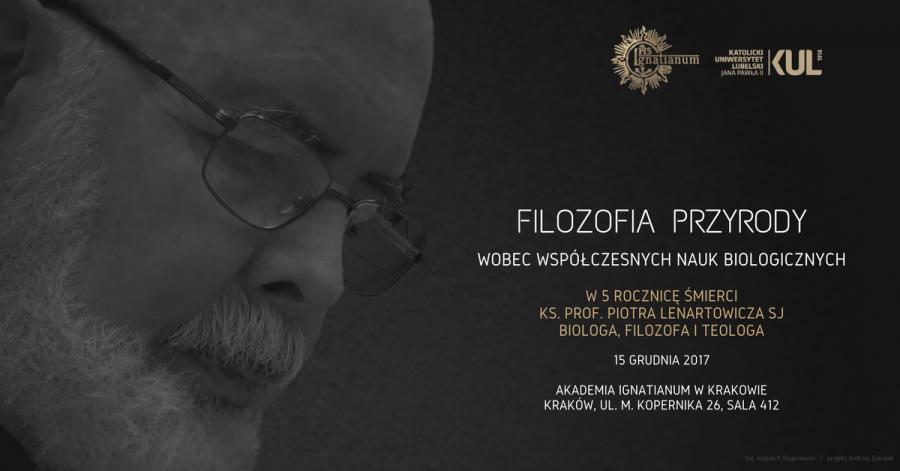 Konferencja in memoriam o. prof. Piotr Lenartowicz SJ