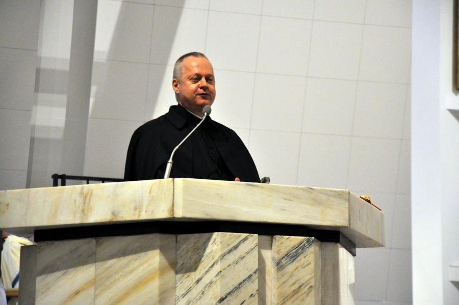 Warszawa: ostatnie śluby o. Bartosza Kurzyńskiego SJ