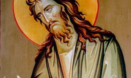Jan Chrzciciel (1) – zastrzeżony dla Boga