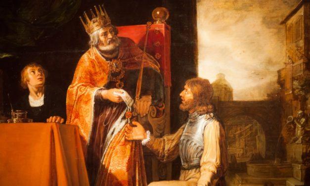 Skandal na dworze króla Dawida