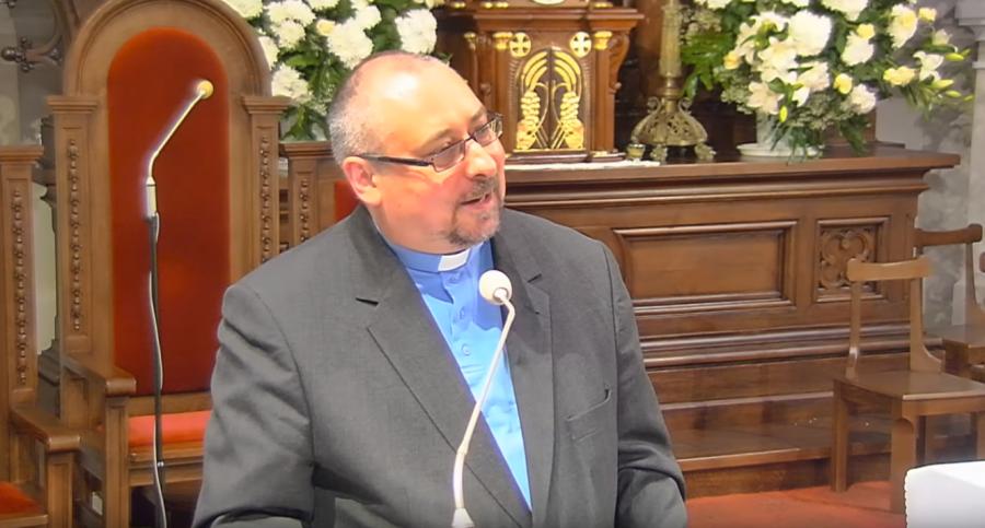 Marek Blaza SJ otrzymał dyplom honorowy za długoletnią pracę w Ukraińskim Kościele Greckokatolickim