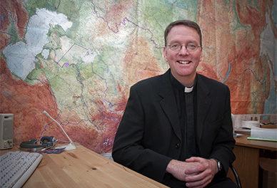 Anthony J. Corcoran SJ objął urząd Administratora Apostolskiego w Kirgistanie