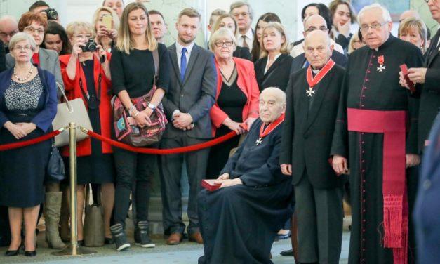 Józef Wilczyński SJ otrzymał Krzyż Komandorski Orderu Odrodzenia Polski