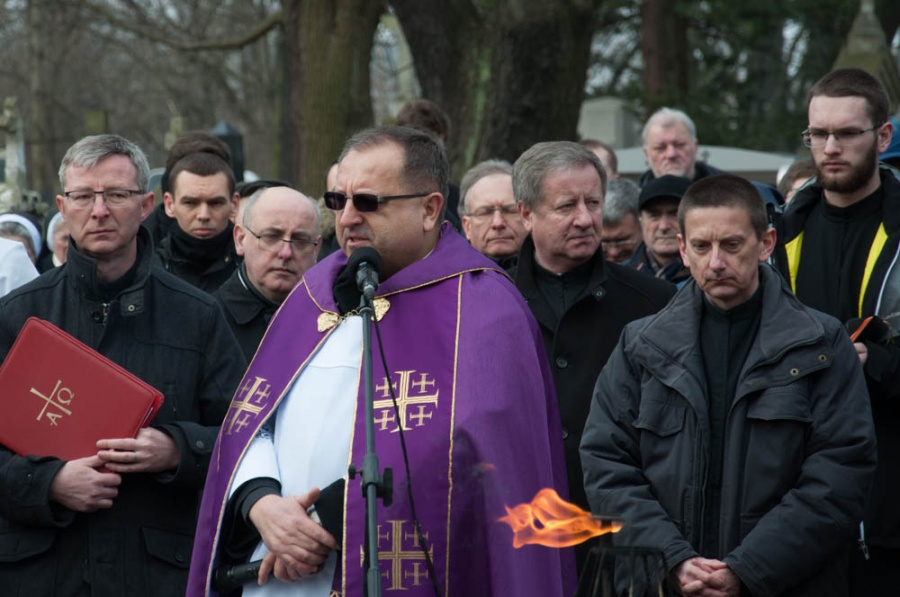 Uroczystości pogrzebowe śp. o Krzysztofa Wałczyka