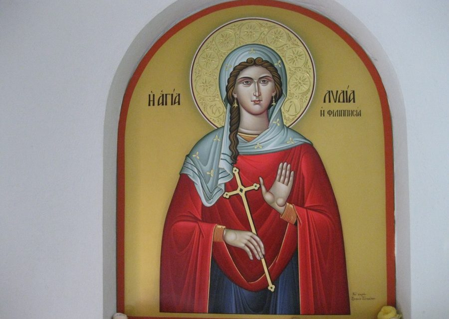 U świętej Lidii