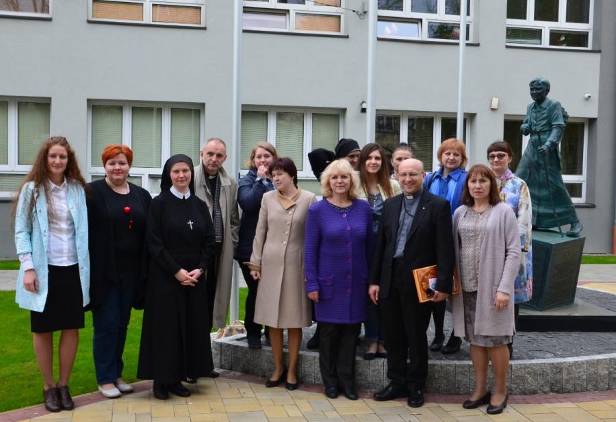 Nauczyciele z jezuickiej szkoły na Syberii z wizytą w Polsce