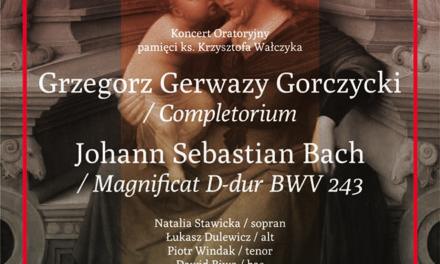 Zaproszenie na koncert poświęcony pamięci o. Krzysztofa Wałczyka SJ