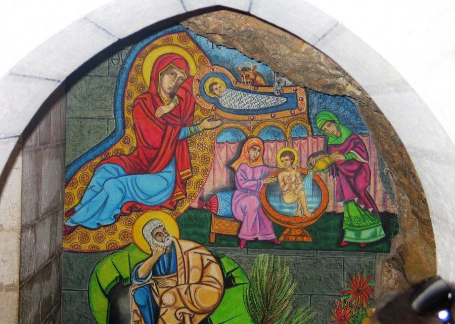 W miejscu narodzin Matki Boga