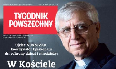 Tygodnik Powszechny: Wywiad z Adamem Żakiem SJ