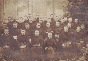 Jezuiccy scholastycy w Velehradzie 1915