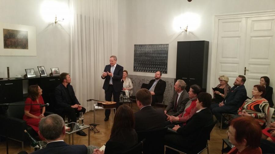 Salon Kulturalno-Polityczny ze wspomnieniem śp. Krzysztofa Wałczyka SJ