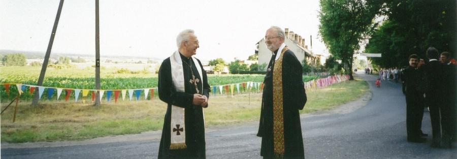 O. Bolesław Sokołowski SJ i o. Janusz Tereszczuk SJ