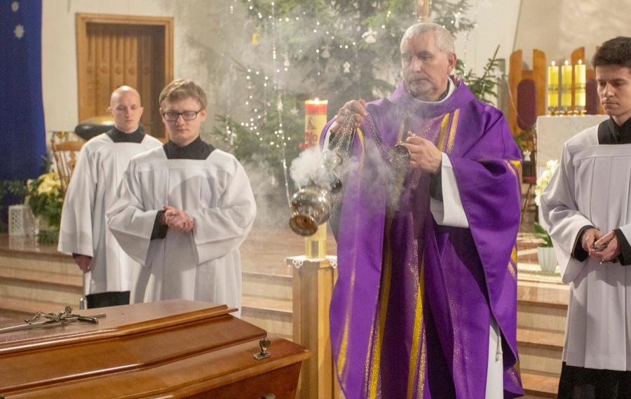 Pożegnanie Br. Bolesława Króla SJ