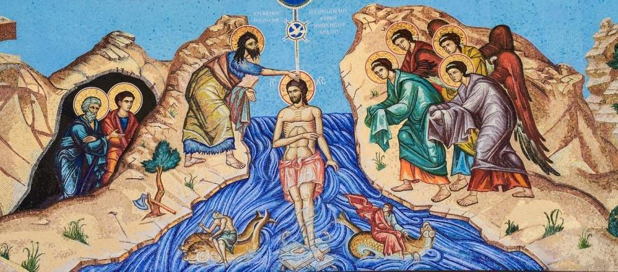 Trójca Święta nad Jordanem – medytacja