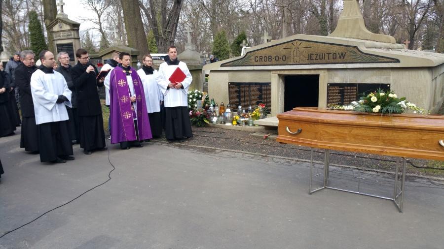 Kraków: pogrzeb śp. o. Józefa Antosa SJ