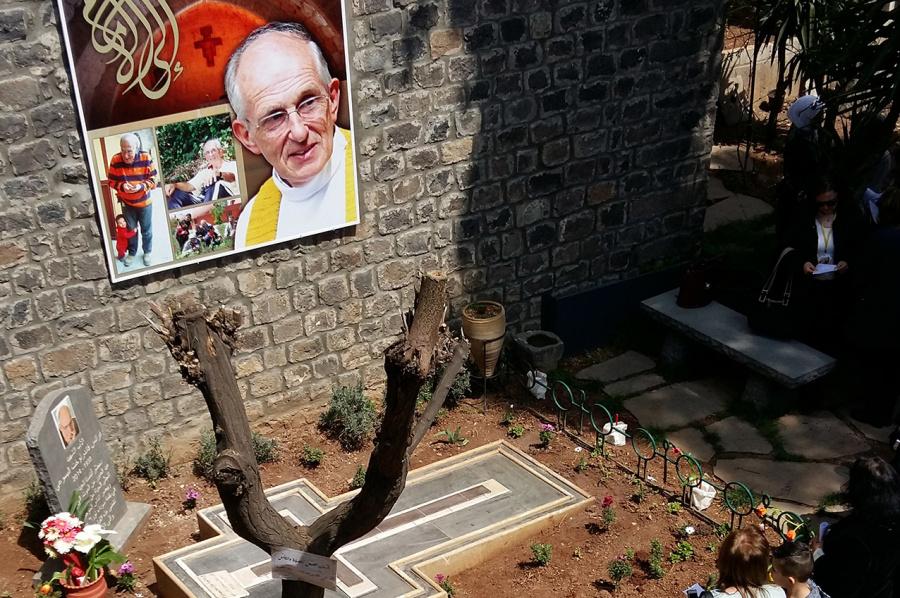 Generał jezuitów wśród Syryjczyków wspominających swego męczennika