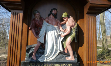 Jezus z szat obnażony
