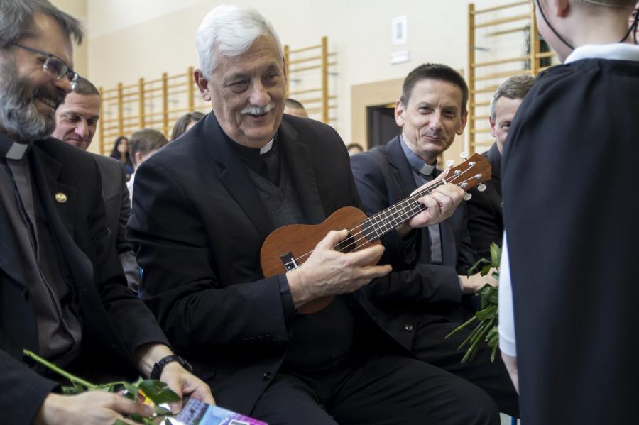 Arturo Sosa SJ w Jezuickim Centrum Edukacji