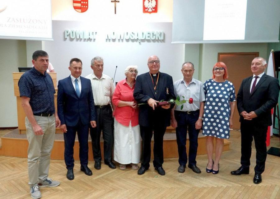 Ojciec Ludwik Ryba SJ zasłużonym dla Ziemi Sądeckiej