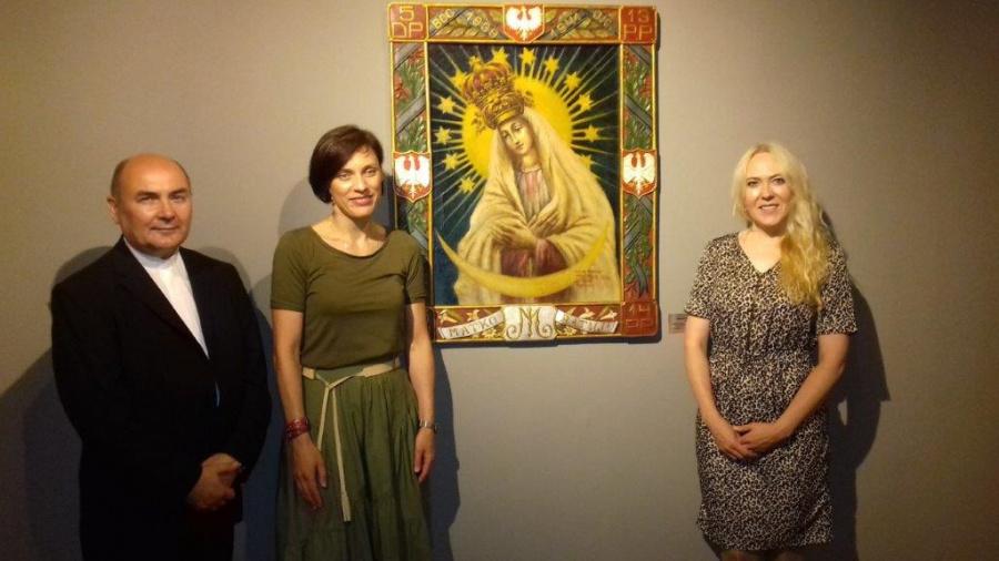 Białostockie muzeum zaprezentowało obraz z parafii jezuitów w Londynie