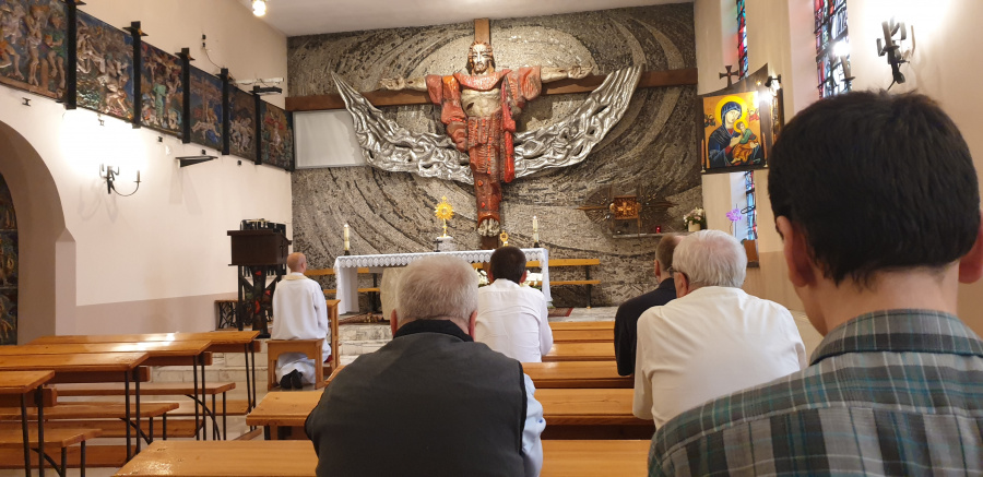 Uroczystość św. Ignacego na krakowskich Przegorzałach
