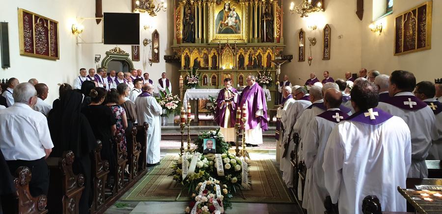 Pogrzeb o. Andrzeja Górskiego