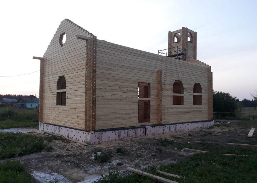 Trwa budowa kościoła w syberyjskim Białymstoku