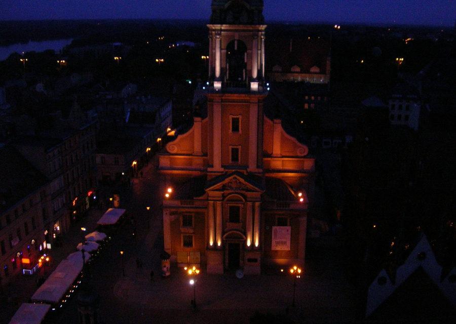 Noc u Ducha, czyli duchowa przestrzeń u toruńskich jezuitów