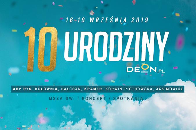 10. urodziny DEON.pl