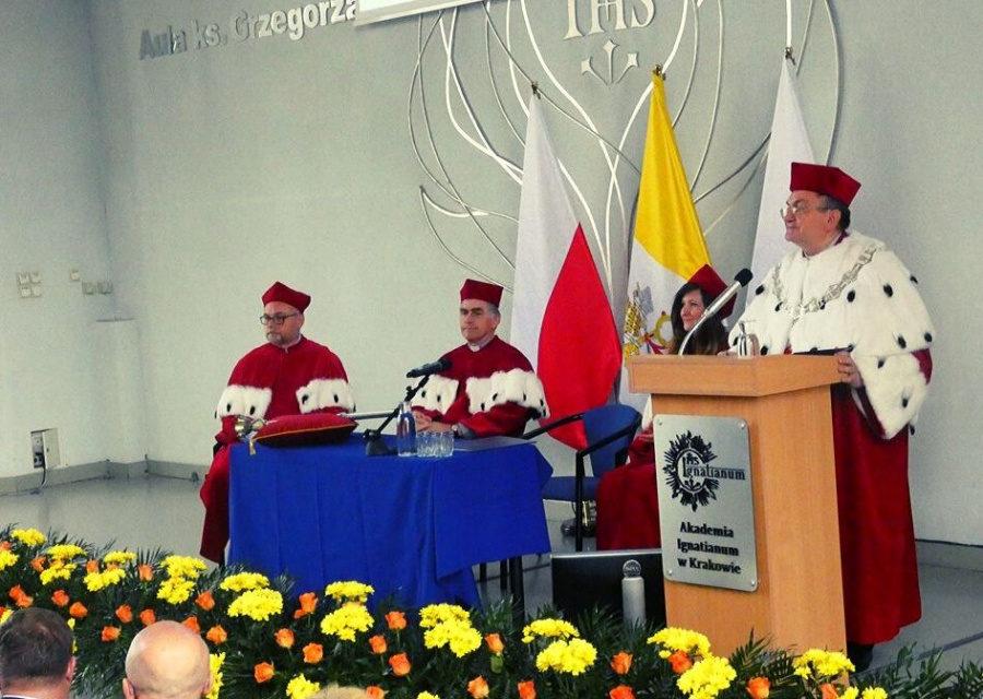 Inauguracja na Akademii Ignatianum