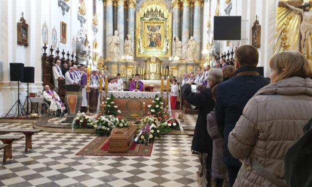 Ostatnie pożegnanie śp. o. Stanisława Mrozka SJ