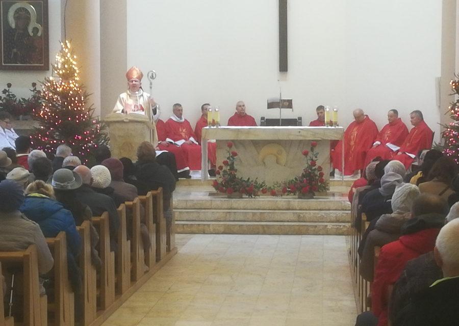 Warszawa: Uroczysta Msza św. w parafii św. Szczepana
