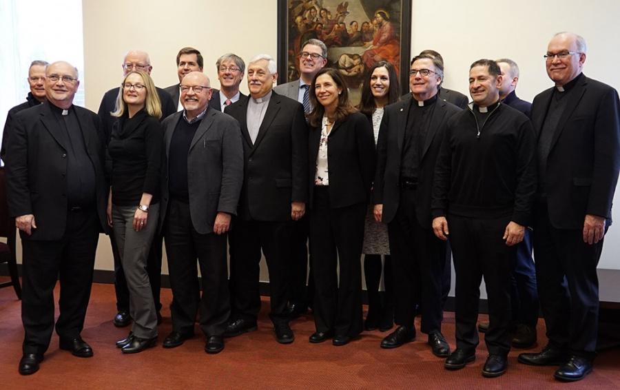 Wizyta o. Arturo Sosy SJ na jezuickich uniwersytetach w USA