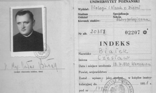IPN o działalności opozycyjnej o. Czesława Białka SJ