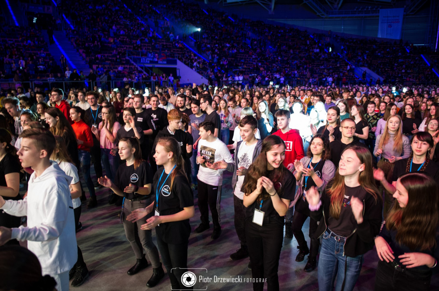 Rekolekcje dla młodzieży na Atlas Arenie w Łodzi