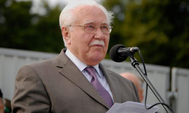 Prezydent Ryszard Kaczorowski mówi o swojej parafii – wspomnienie