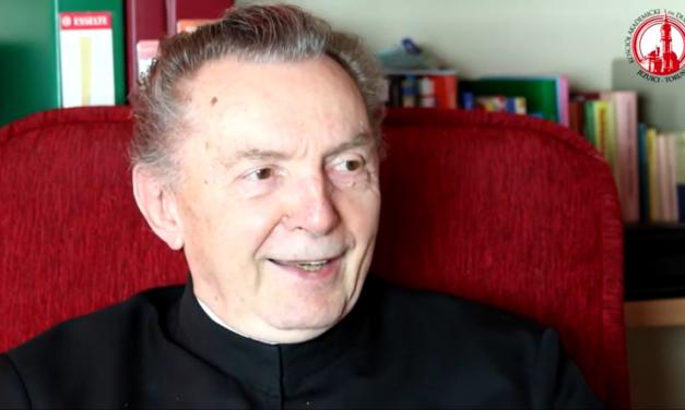 60-lecie życia zakonnego o. Kazimierza Wójta SJ