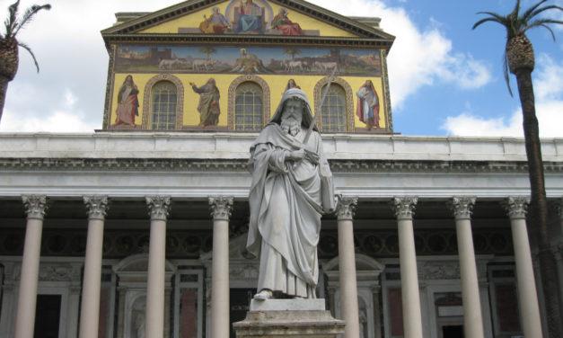 Przy grobie świętego Pawła