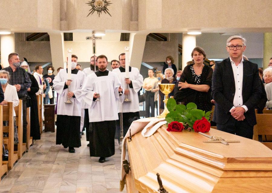 Pogrzeb o. Piotra Deczewskiego SJ