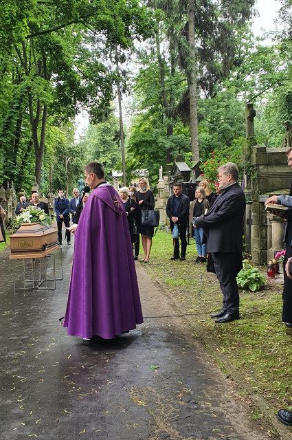Pogrzeb o. Józefa Żukowicza SJ
