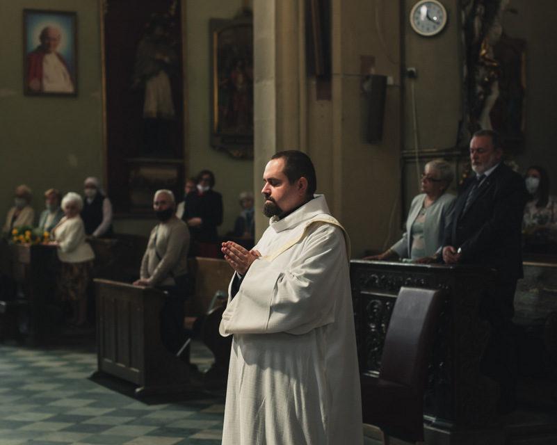 Święcenia kapłańskie Dominika Sroki SJ