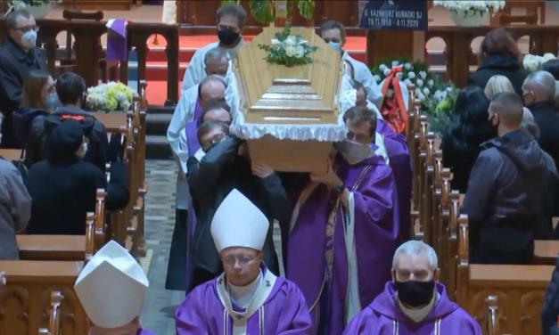 Pogrzeb o. Kazimierza Kubackiego SJ